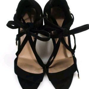 DVF strappy heel (8.5)